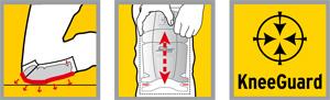 Spaar je knieën en gebruik gecertificeerde kniebeschermers van Snickers
