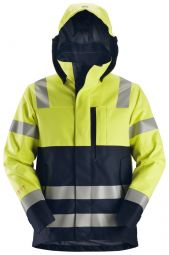 Snickers 1360 ProtecWork, Waterproof Shell Jack, High-Vis Klasse 2