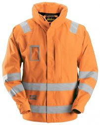 Snickers1973 Waterproof Jack High Visibility, Klasse 3
