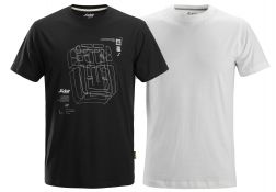 Snickers 2522 T-shirt x 2