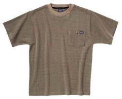 Snickers T-shirt van topkwaliteit K/P met borstzak