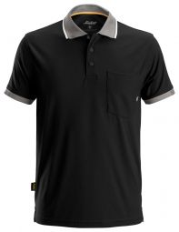 Snickers 2724 AllroundWork 37.5 ® Technologie Polo Shirt Zwart
