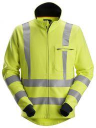 Snickers 2864 ProtecWork, Sweatshirt met rits, High-Vis Klasse 3