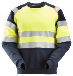 Snickers 2869 ProtecWork, Sweatshirt, High-Vis Klasse 1