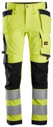 Snickers 6243 Allround, High-Vis Stretch Werkbroek met Holsterzakken KL2