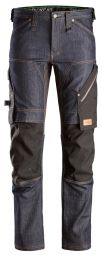Snickers 6956 FlexiWork, Denim Werkbroek