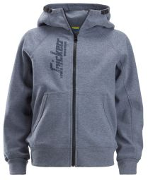 Snickers 7508 Junior Logo Full Zip Hoodie