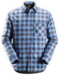Snickers 8501 RuffWork, Gevoerd Flanellen Shirt.