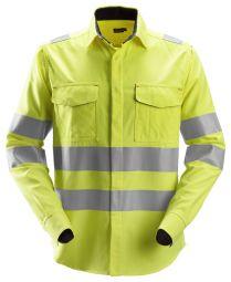 Snickers 8562 ProtecWork, Shirt met Lange Mouwen, High-Vis Klasse 3