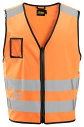 Snickers 9153 Vest High Visibility, Klasse 2
