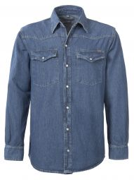 Denim Overhemd 100% katoen