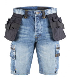 Dunderdon P55S Denim Shorts Stonewashed