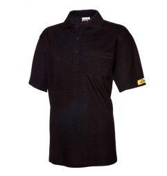 ESD Poloshirt, EN61340-5-1,(96%katoen/4%geleidend garen)