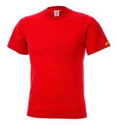 ESD T-shirt EN 61340-5-1 (96%katoen/4%geleidend garen)