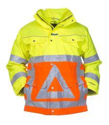 Verkeersregelaar jas met uitritsbaar stepjack 04026004P