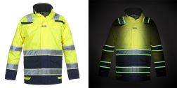 High Vis Parka Italie Glow in the dark