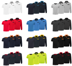 Indushirt 2 colors (5 x TS - 3 x PS - 2 x PSW). Mooie set.