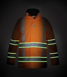 High Vis Parka Italie Glow in the dark RWS