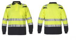 Vlamvertragend Poloshirt Long Sleeve Marbella EN ISO 20471