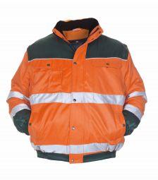 3 in 1 pilot jacket Beaver LEEDS EN 471 Oranje/Groen