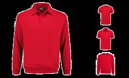 PSO300 Indushirt Polosweater van Biologisch katoen