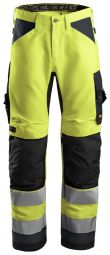 Snickers 6331 AllroundWork, High-Vis Werkbroek+ Klasse 2