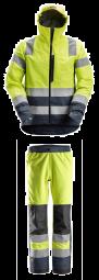 Snickers 1330-6530 high vis waterproof regen shell pak