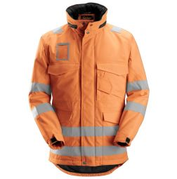 Snickers 1823 Winter lang Jack High Visibility, EN 471 Klasse 3