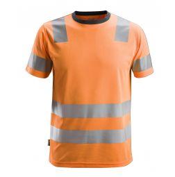 Snickers  2530 AllroundWork, High-Vis T-Shirt Klasse 2