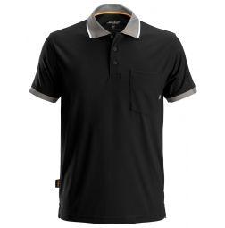 Snickers 2724 AllroundWork 37.5 ® Technologie Polo Shirt Zwart
