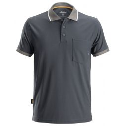 Snickers 2724 AllroundWork 37.5 ® Technologie Polo Shirt  Staalgrijs