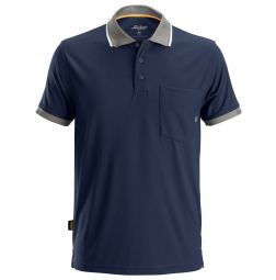Snickers 2724 AllroundWork 37.5 ® Technologie Polo Shirt Donkerblauw