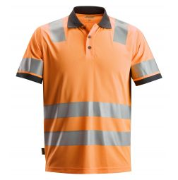 Snickers 2730 AllroundWork, High-Vis Polo Shirt Klasse 2