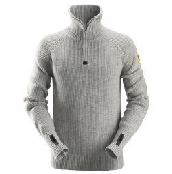 Snickers 2905 ½-Zip Wollen Sweater / Schipperstrui