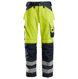 Snickers 3333 Werkbroek High Visibility Klasse 2