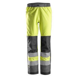 Snickers 6530 AW, High-Vis WP Shell Broek Klasse 2