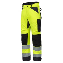 Snickers 6639 AllroundWork, High-Vis 37.5 Isolerende Werkbroek+ Klasse 2