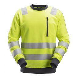 Snickers 8037 AllroundWork, High-Vis Sweatshirt KL2/KL3