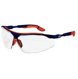 Veiligheidsbril i-vo blauw/oranje 9160265