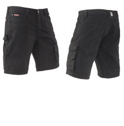 Brams Paris Short Ruben K/P Black