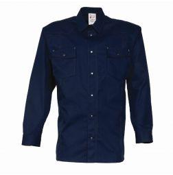 Overhemd lange mouw 65%katoen/35%polyester 1655