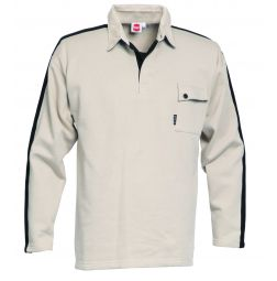 HaVeP Polo Sweater Lange Mouw Construction Line 7236