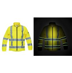 High Vis Softshell Jack Ingen Glow in the dark RWS