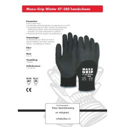 Maxx-Grip Winter 47-280 handschoen