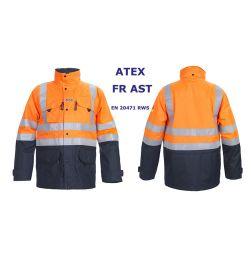 Parka Miramas ATEX, FR AST, EN 20471 RWS