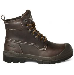 - Mister Miles Safety Boots Explorer S3 Dark Brown