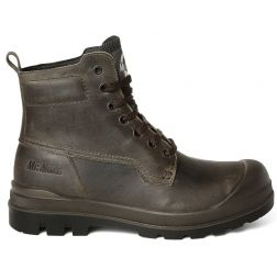 -Mister Miles Safety Boots Time Bandit S3 Grey/Brown