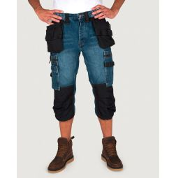 Dunderdon P12 Denim Pirate broek Stonewashed