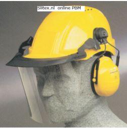 Peltor Visor V4F voor Peltor helm + Optime gehoorkap
