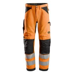 Snickers 6332 LiteWork, High-Vis Werkbroek+ Klasse 2